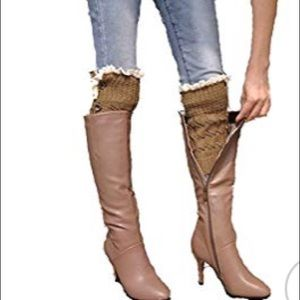 Boots Socks Leg Warmer